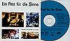 Hudební kompaktní disk ´Ein Fest für die Sinne´ za 490 fazolí včetně veškerých nákladů na zaslání (poštovného i balného). Stejný disk lze získat také zdarma při nákupu 100 kusů originálních značkových samolepících etiket SONY.